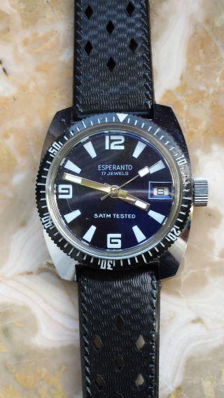 Armbanduhr Esperanto Bild