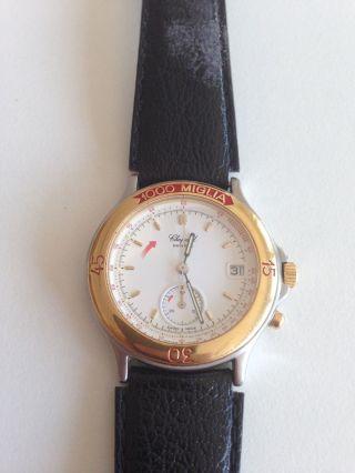 Chopard 1000 Miglia,  Ref.  8142,  Gold/stahl,  90iger Jahre,  Rarität Bild