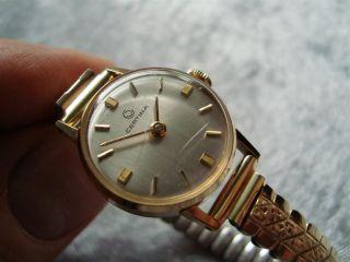 Certina Swiss Made Damen - Uhr 17 Jewels Mechanik - Werk Bild