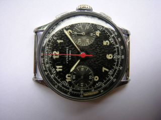Klassischer - Junghans Chronograph - Kaliber 88 - Handaufzug 50er Jahre Bild