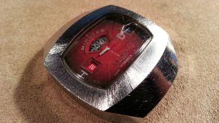 Sicura Discus Uhr Made In Swiss Als Ersatzteile Oder Fuer Reparieren Bild