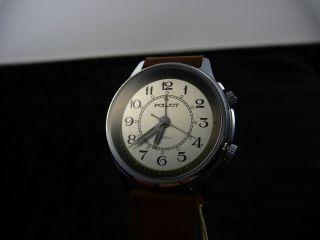 Poljot Armbanduhr Mit Alarm/weckfunktion 2812/1 Wohl Ungetragen Bild