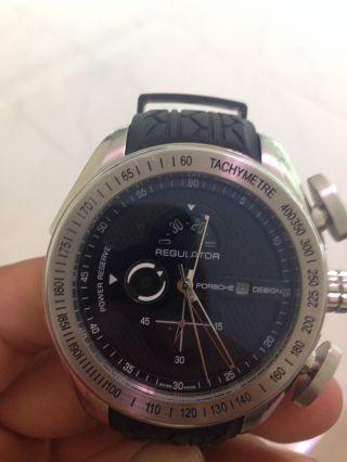 Uhr Porsche Design P6780 Wie Automatik Uhr Edelstahl. Bild