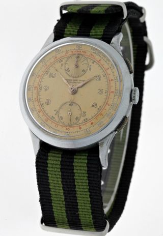 Vintage Chronograph Suisse