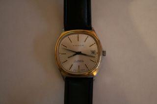 Armbanduhr Kienzle Vintage Mechanisch Handaufzug Hau Herren Bild