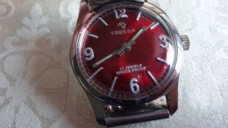 Tressa Handaufzug,  Uhrwerk Fhf 96 N Bild