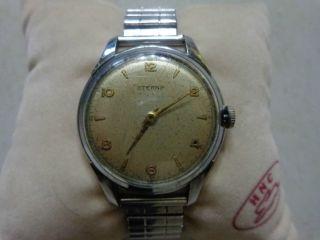 Eterna Herren Armbanduhr Handaufzug,  Ca.  1950 - 1960. Bild