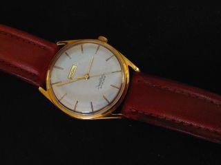 Schöne Herren Uhr Bergana Handaufzug Swiss Made Ca.  60er Jahre Kaliber Eta 2391 Bild