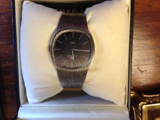 Elegante Dugena Uhr Watch Silber Silver 835 Gepunzt Bild