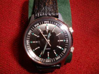 Russische Armbanduhr - Wecker - Von Poljot Bild