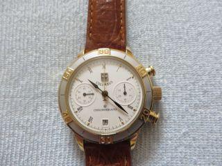 Poljot Columbus Chronograph P 3133 Mechanische Uhr Mit Stoppuhr Bild