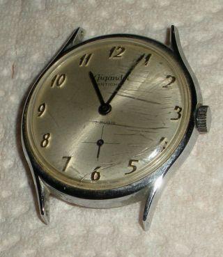 Gigandet Herren - Armbanduhruhr 17 Rubis Handauzug 60er Jahre Bild