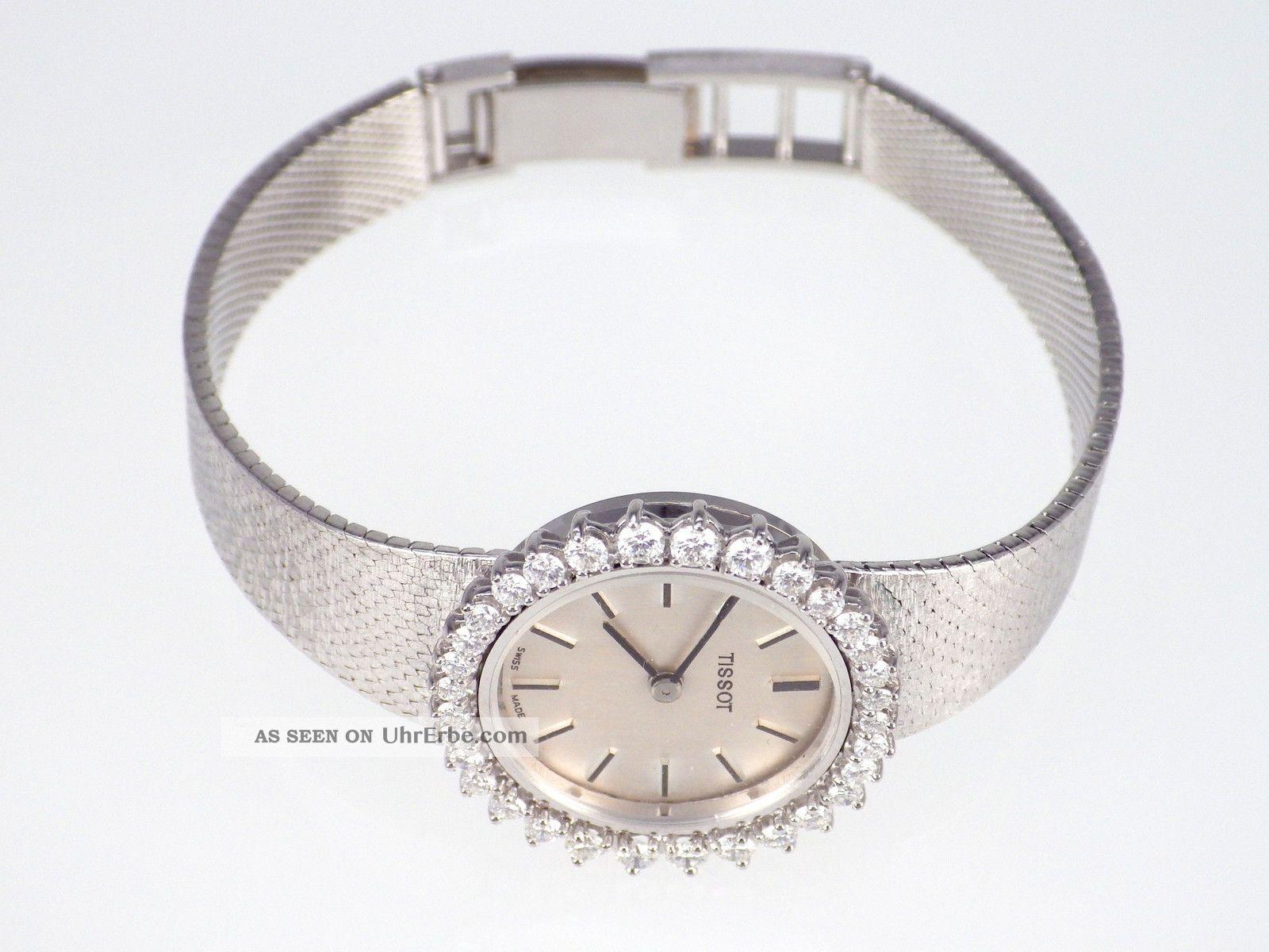 Vintage Hamilton Dame Diamant Uhr