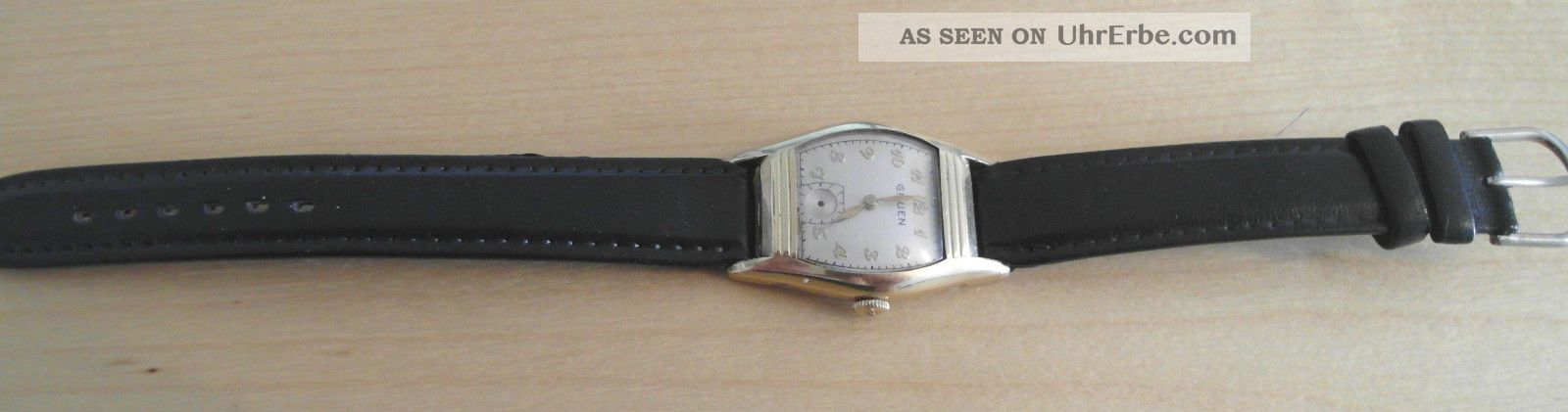 Hau Gruen 10k Goldfilled Armbanduhren Bild