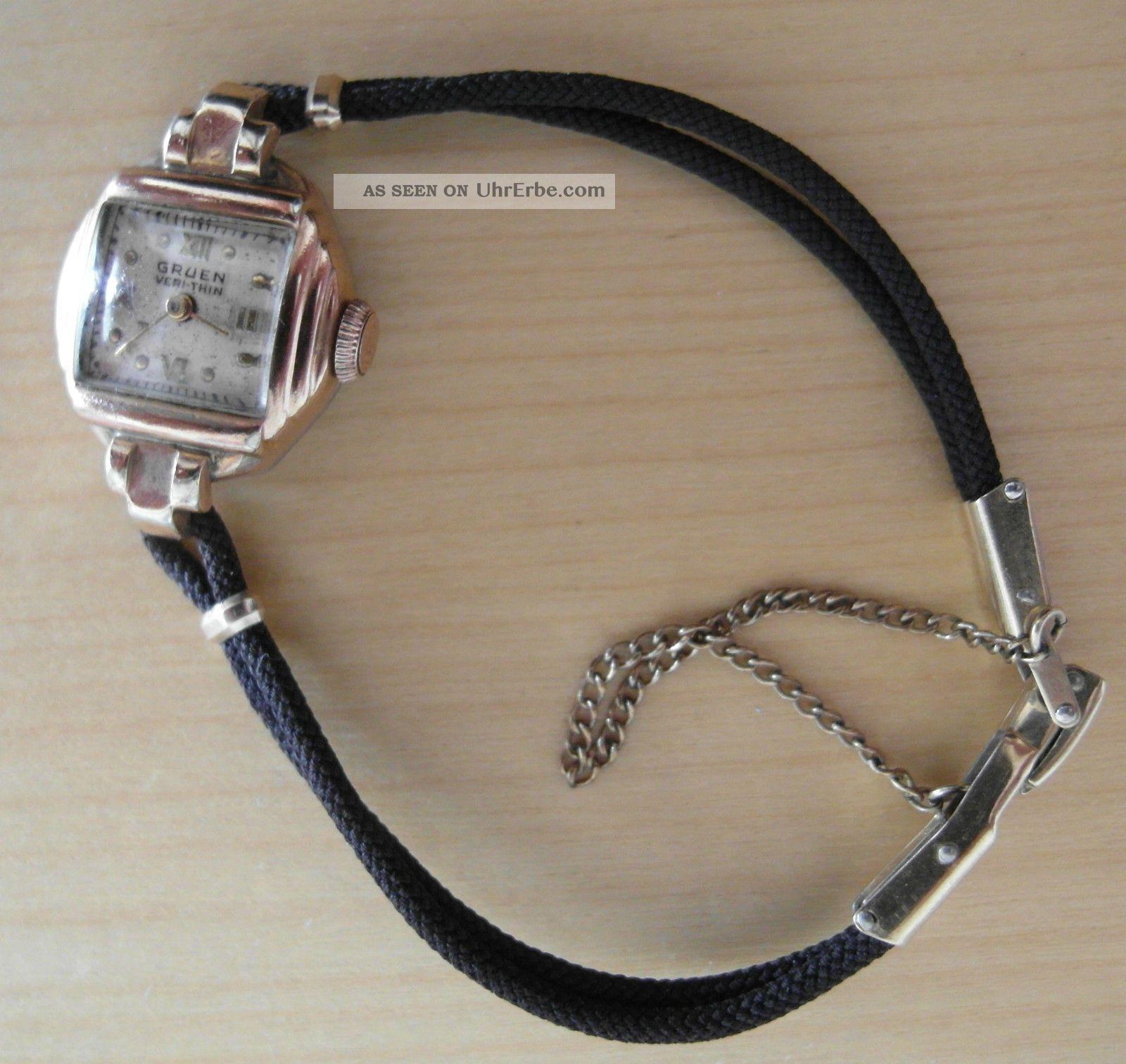 Dau Gruen Very Thin Rotgold Rose Gold Armbanduhren Bild