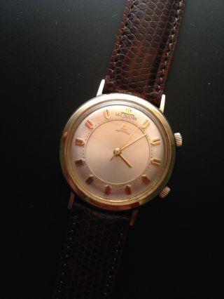 Lecoultre Memovox - Armbanduhr Mit Alarm In 10k Gold - Topzustand (jaeger,  Jlc) Bild