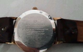 Herren Armbanduhr,  Gub,  Glashütte 17 Rubis Handaufzug,  Vintage Ddr. Bild