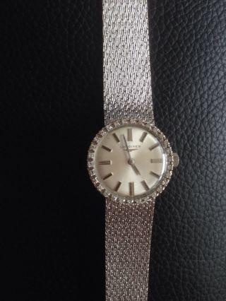 Longines 750/18k Weissgold Mit Diamanten,  32g Bild