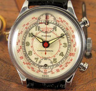 Pierce 2 - Drücker Chronograph - 40er Jahre Bild