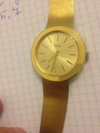 Para Herren Armbanduhr Bild