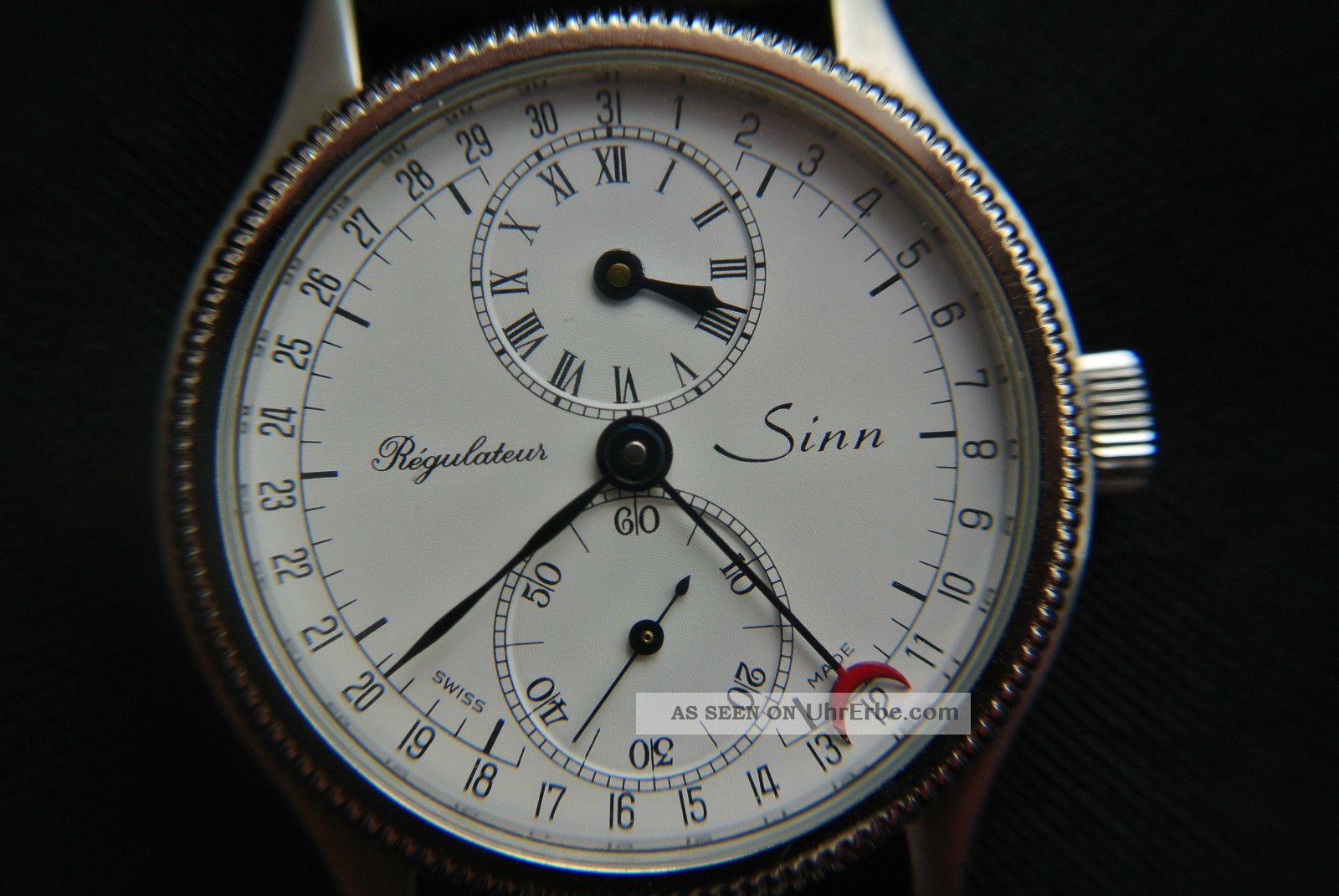 Sinn Regulateur 7040 Handaufzug Armbanduhren Bild