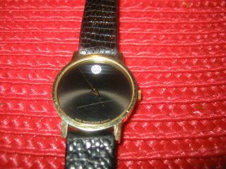 Movado Museum Watch - Damenuhr,  14k Gold Bild