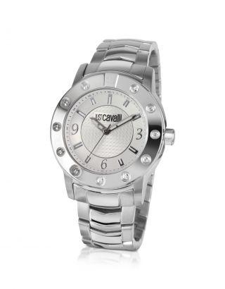 Just Cavalli Crystal Gent Armbanduhr Für Herren (r7273661115) Bild