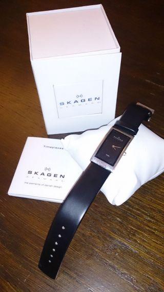 Skagen Designs Steel 359uslb Armbanduhr Neuwertig Bild