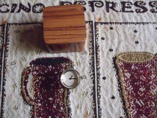 Ringuhr - Fingeruhr - Uhrenring Tempic Bild