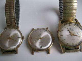 3 - Defekte Herren Armbanduhren Stowa,  Ducado,  Pronto Bild