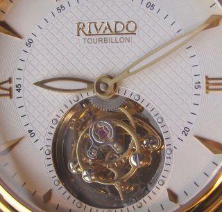 Rivado Uhr Mit Echten Tourbillon Limited Edition Neuwertig Bild