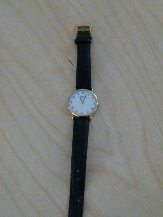 Raymond Weil,  Geneve: Klassische Uhr,  18 Karat Gold,  Handaufzug,  Swiss Made Bild