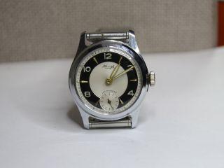 Kienzle - Sehr Schöne Armbanduhr Aus Den 50/60er Jahren.  Kal.  51/0d.  30mm Durchm Bild
