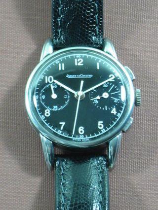 Jaeger Lecoultre Chronograph Handaufzug Valjoux 23 Bild