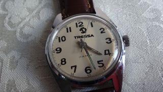 Tressa Handaufzug,  Uhrwerk Kal.  As 1940 Bild