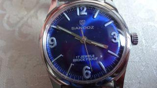 Sandoz Handaufzug,  Uhrwerk Fhf Kal.  96 N Bild