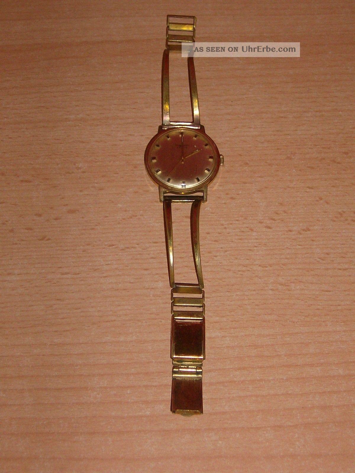 Alte Dugena Festa Armbanduhr,  Handaufzug,  Funktioniert Armbanduhren Bild