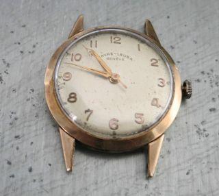 Vintage Ca 1940 - 1950 Gold Armband - Uhr