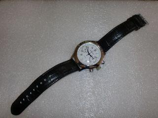 Poljot Uhr Chronograph Handaufzug Edelstahl Bild