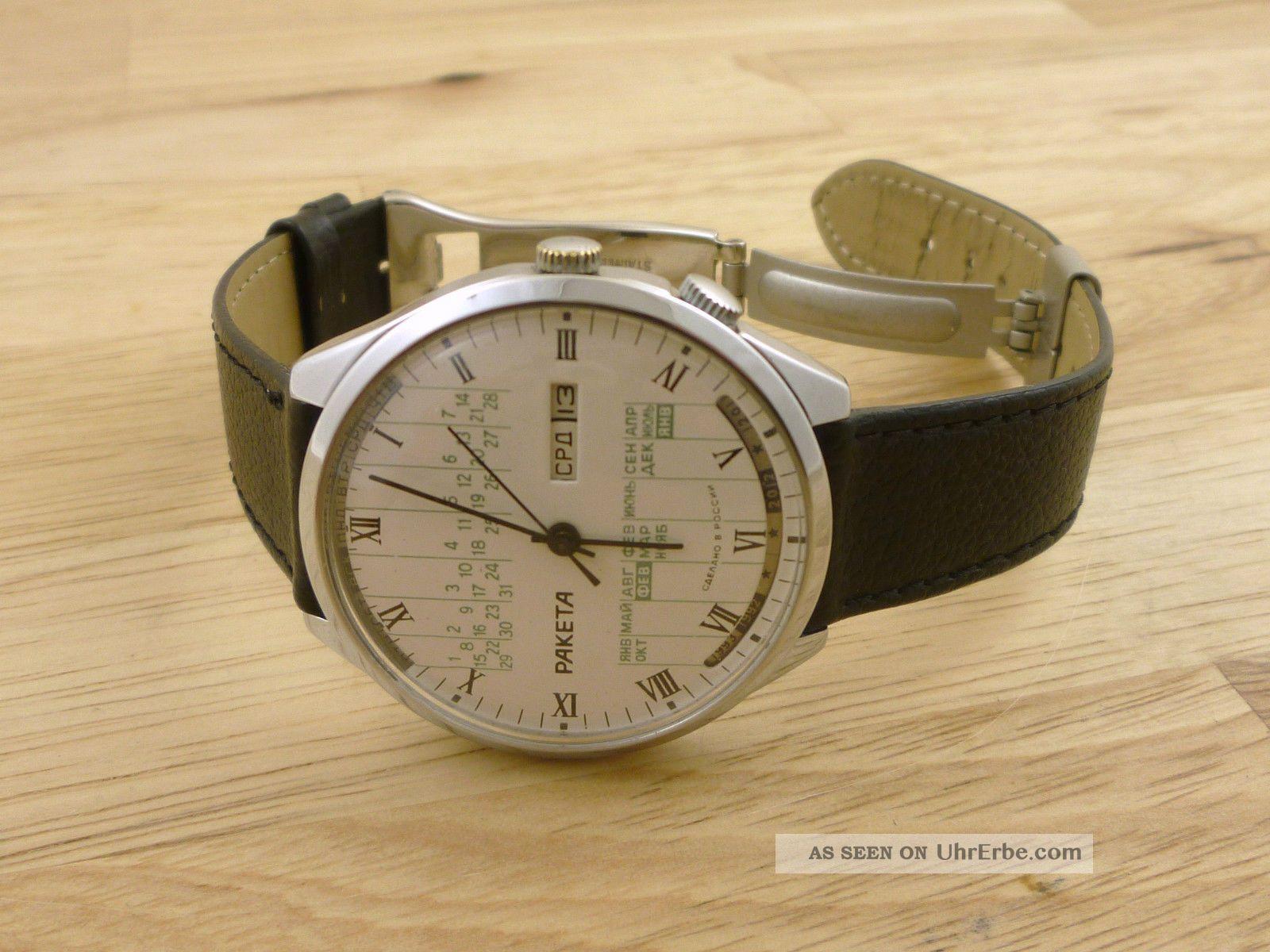 Grosse Paketa Herren Armbanduhr