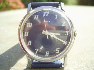 Schöne Timex,  Herren,  Sammlerstück,  Mech.  Handaufzug,  Vintage Collectors Watch Bild