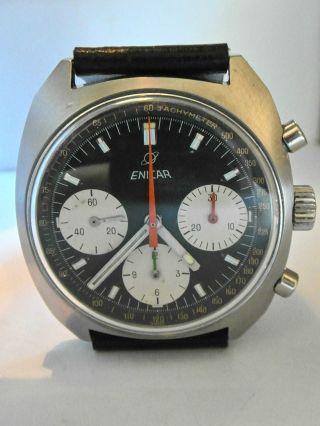 Enicar Chronograph; Valjoux 72 (72.  4) Bild