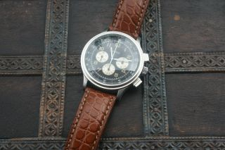 Eberhard Aviograf Chronograph Bild