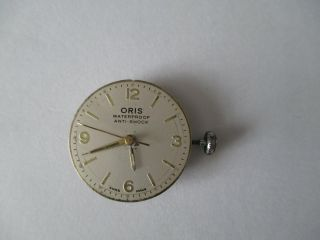 Oris Armbanduhr Werk Komplett Bild