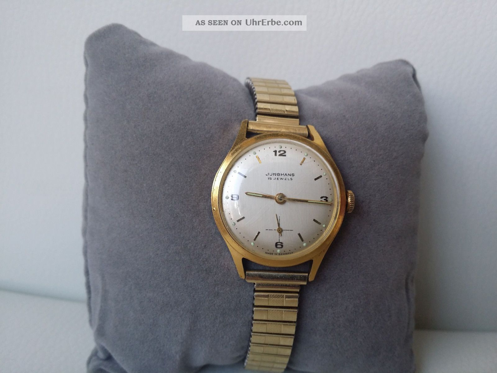 Damenuhr junghans 17 jewels
