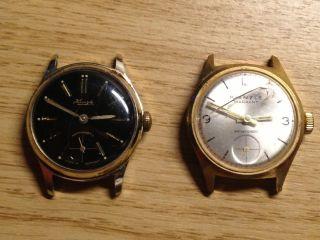 Konvolut Von 2 Kienzle Uhren Handaufzug Bild