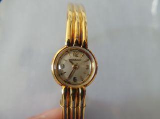 Damenarmbanduhr Jaeger - Lecoultre,  Gold Bild
