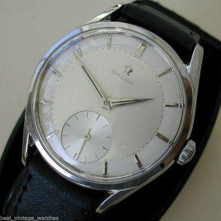 Omega Oversize Klassik V 1956 - Bildschön &s. G. Erhalten Seltene Ausführung Bild
