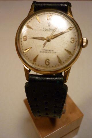 Herrenuhr Zentra 17 Rubis Uhr Armbanduhr Bild