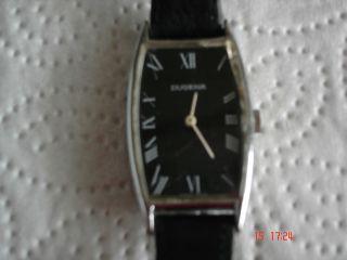 Damen Armband Uhr Dugena Mit Lederarmband Bild